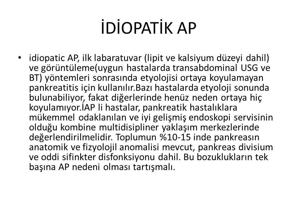 İDİOPATİK AP