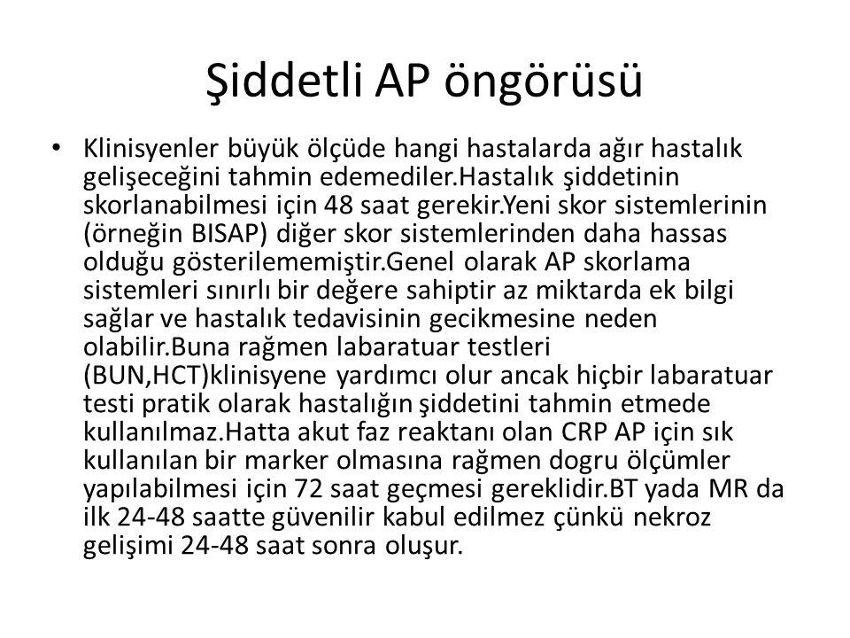 Şiddetli AP öngörüsü