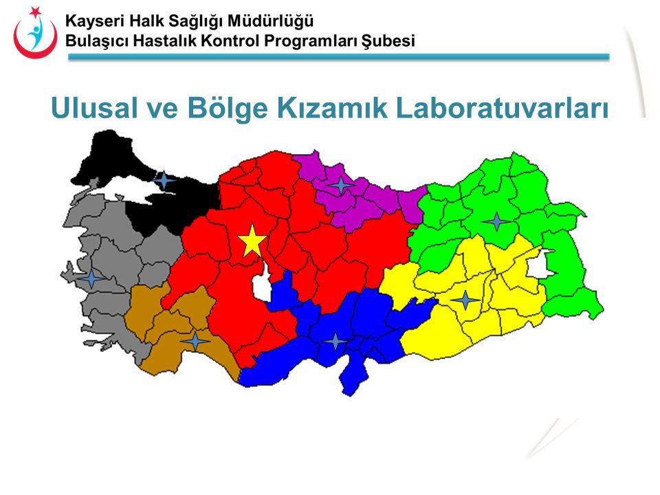 Ulusal ve Bölge Kızamık Laboratuvarları