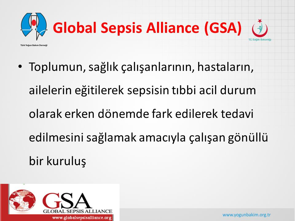 Global Sepsis Alliance (GSA)