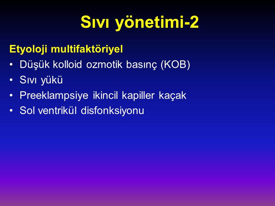 Sıvı yönetimi-2 Etyoloji multifaktöriyel