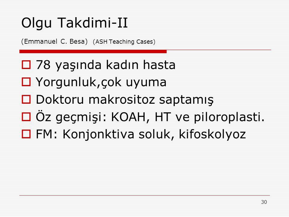 Olgu Takdimi-II (Emmanuel C. Besa) (ASH Teaching Cases)