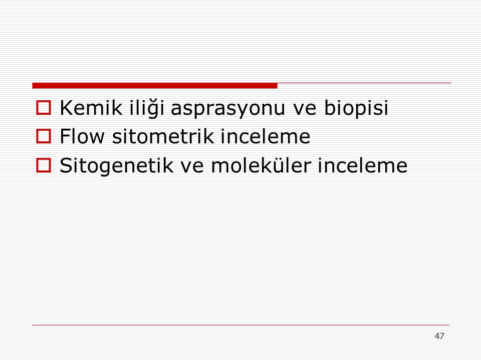 Kemik iliği asprasyonu ve biopisi