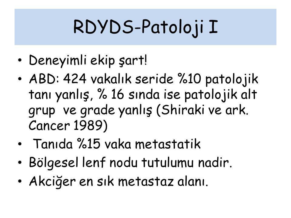 RDYDS-Patoloji I Deneyimli ekip şart!