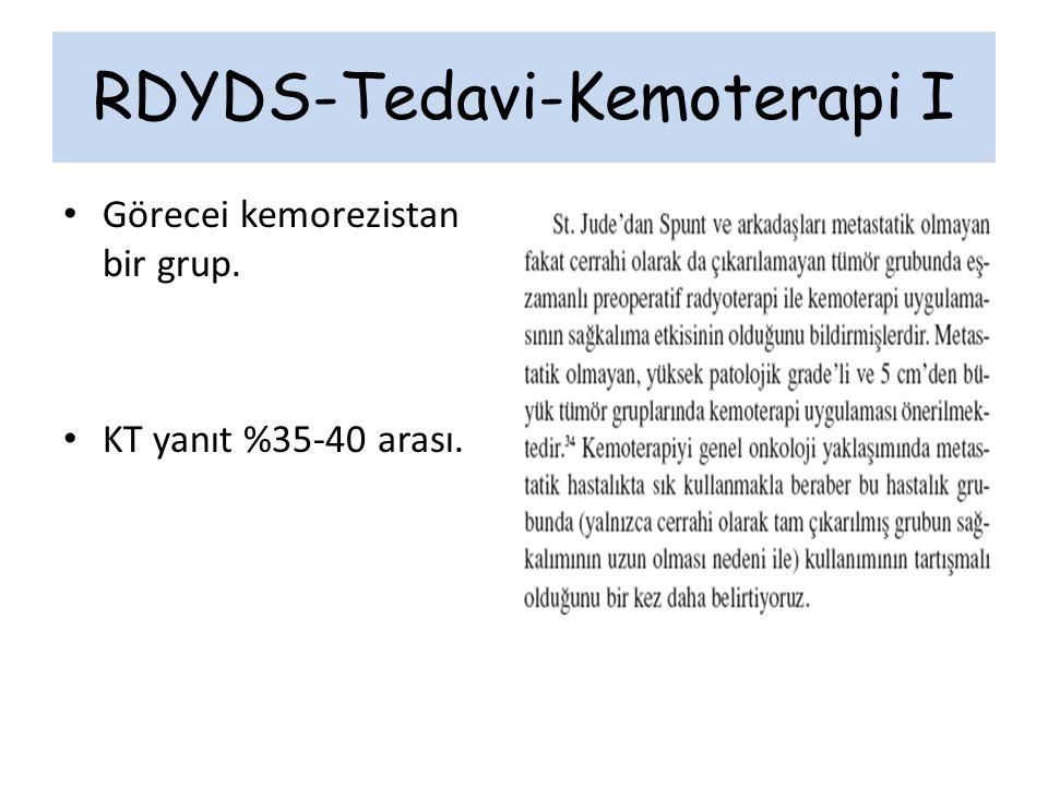 RDYDS-Tedavi-Kemoterapi I