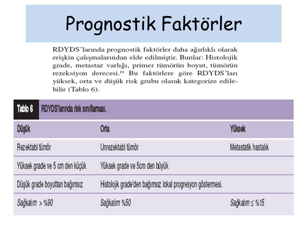 Prognostik Faktörler