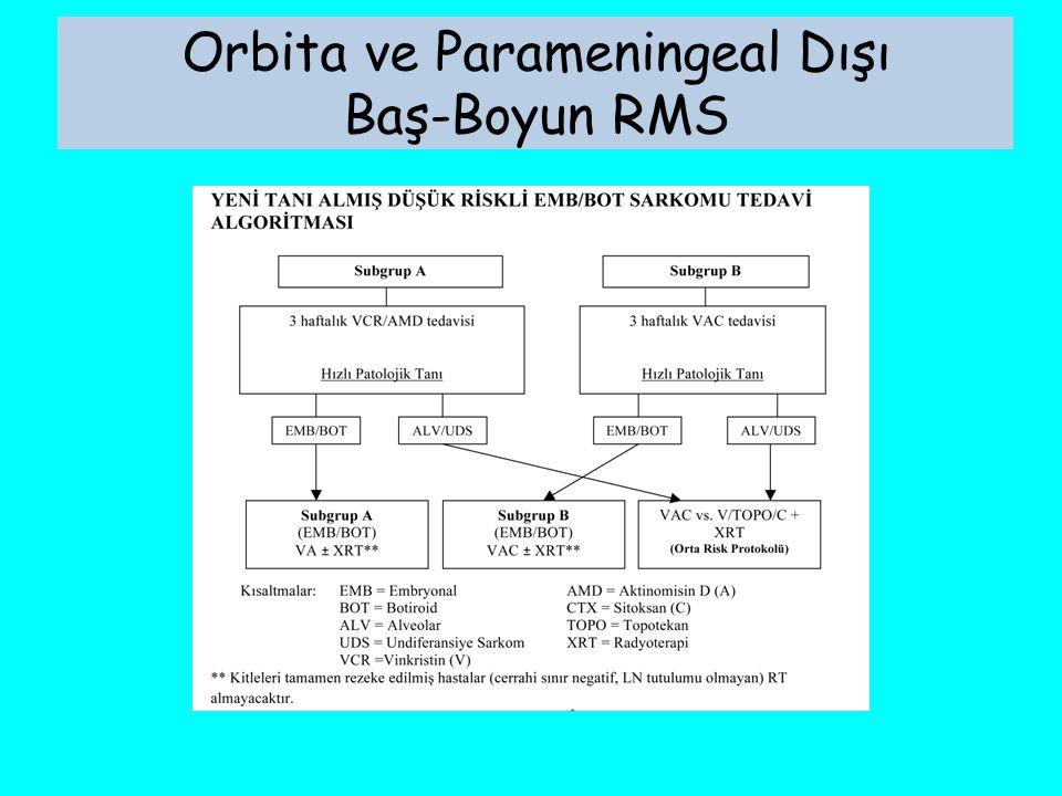 Orbita ve Parameningeal Dışı Baş-Boyun RMS