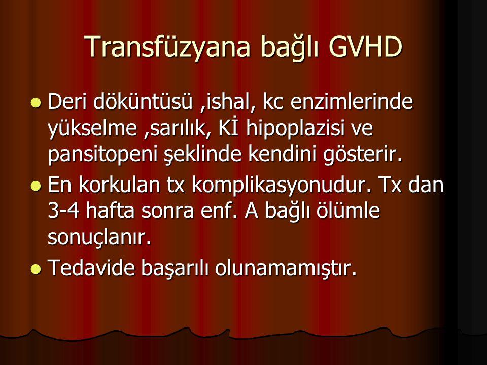 Transfüzyana bağlı GVHD