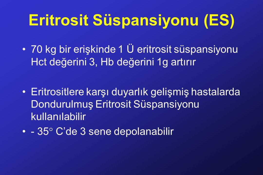 Eritrosit Süspansiyonu (ES)