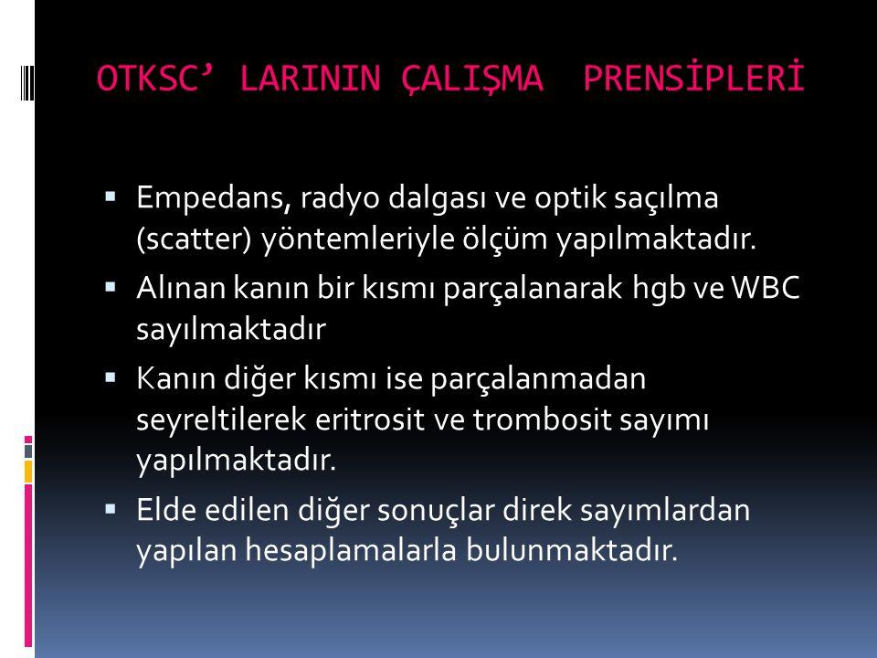 OTKSC' LARININ ÇALIŞMA PRENSİPLERİ