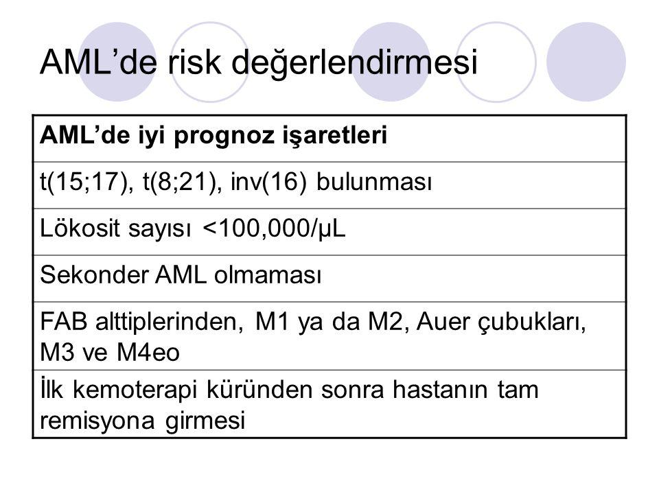 AML'de risk değerlendirmesi