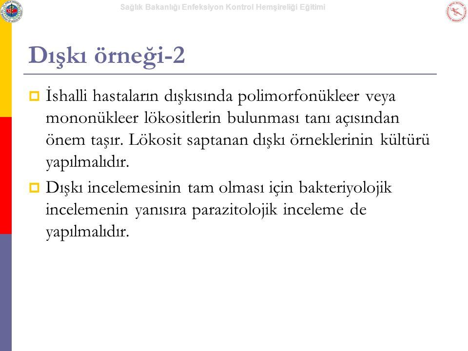 Dışkı örneği-2