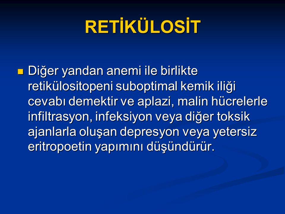 RETİKÜLOSİT
