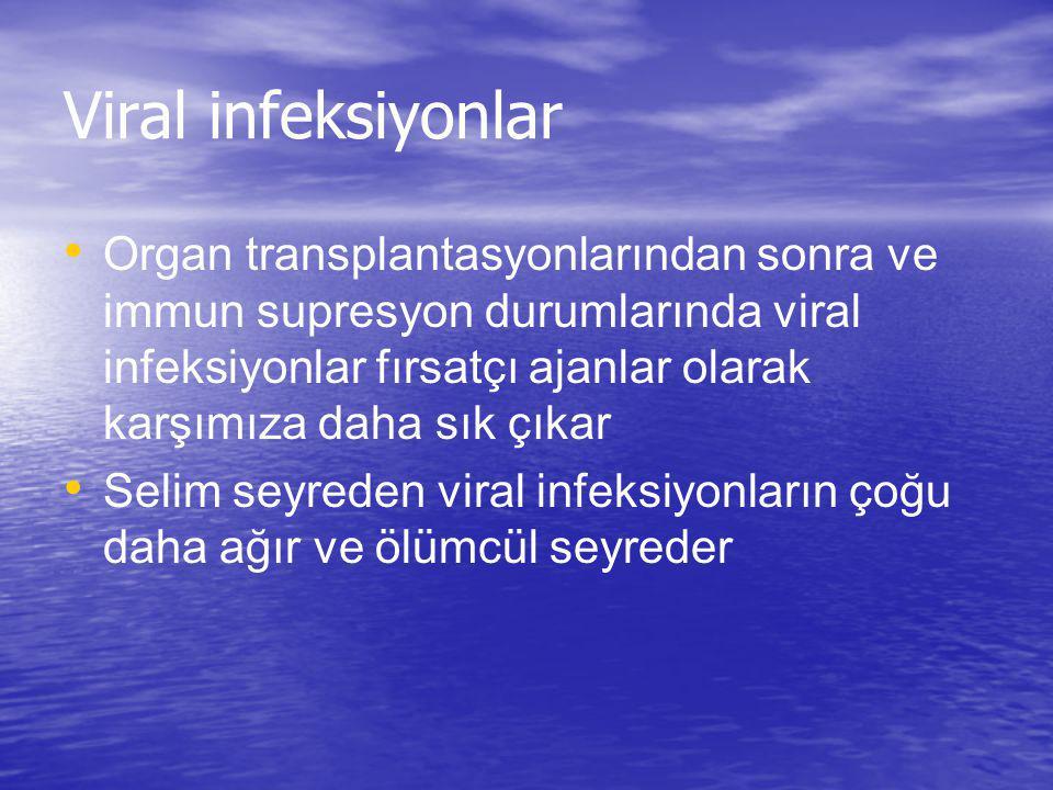 Viral infeksiyonlar