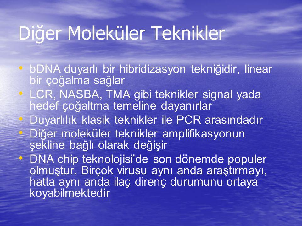Diğer Moleküler Teknikler