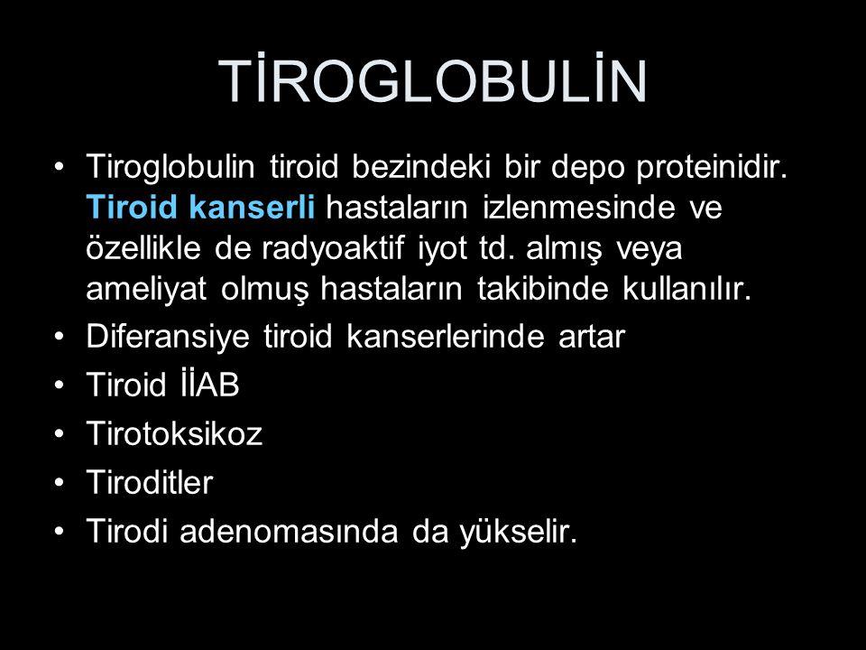 TİROGLOBULİN
