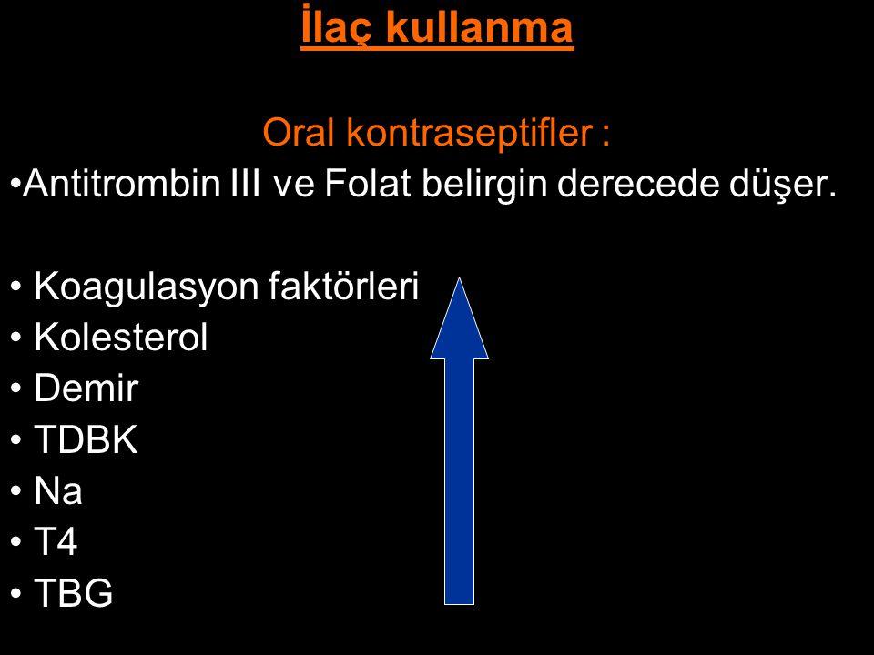Oral kontraseptifler :