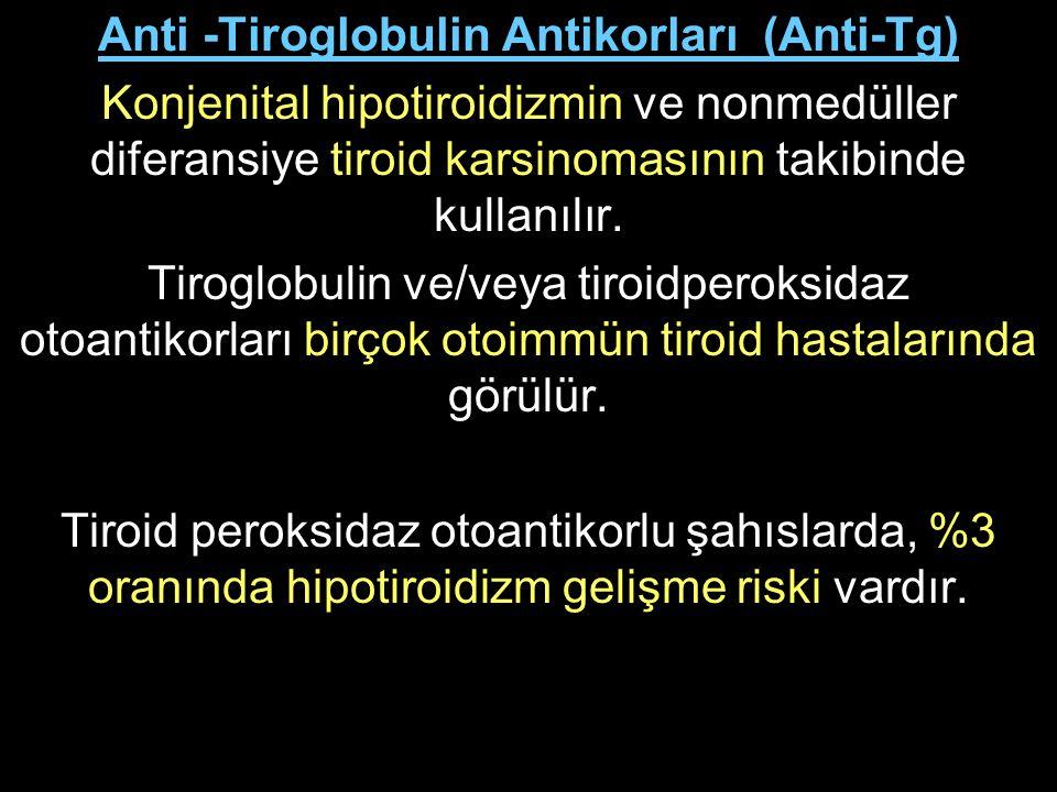 Anti -Tiroglobulin Antikorları (Anti-Tg)