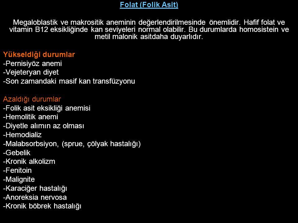 Folat (Folik Asit)