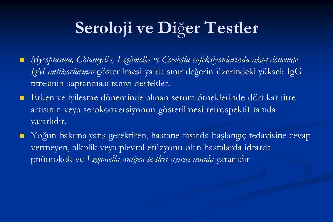 Seroloji ve Diğer Testler