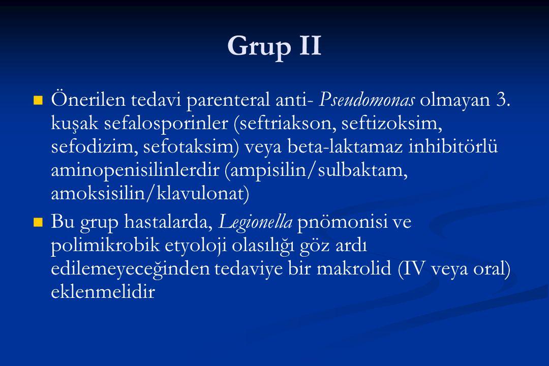 Grup II