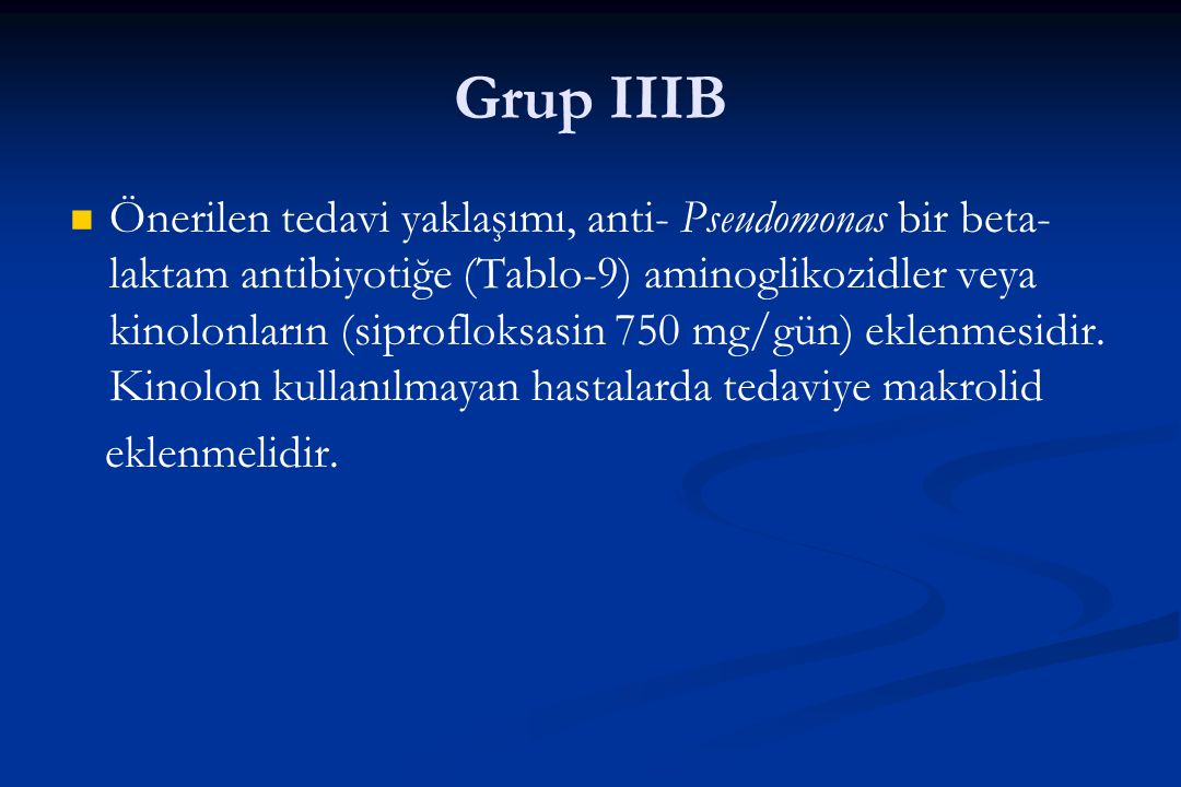 Grup IIIB