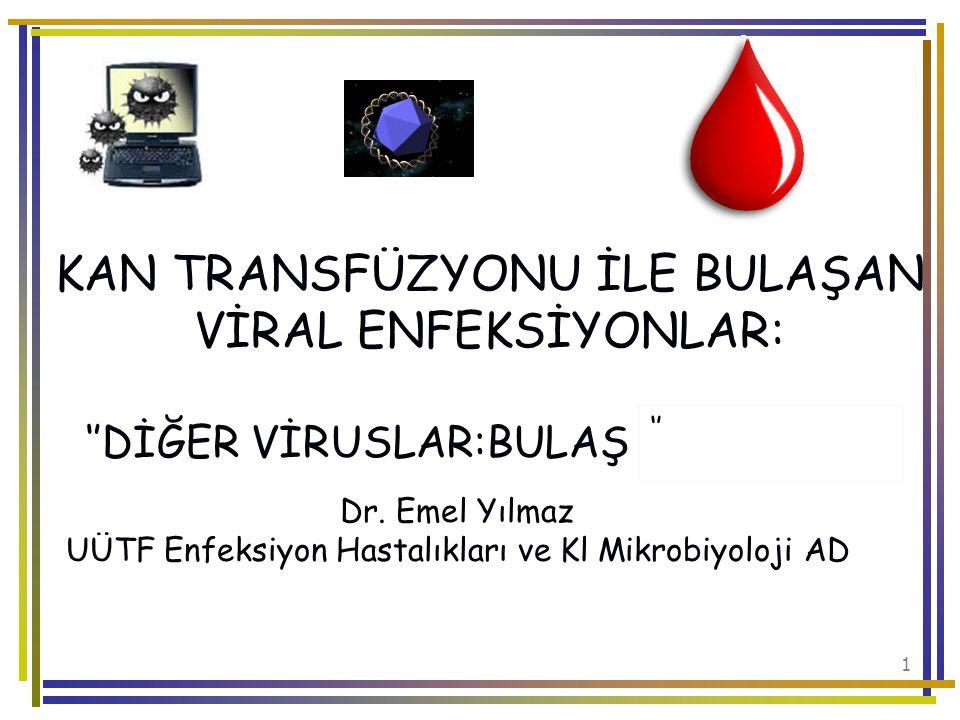 UÜTF Enfeksiyon Hastalıkları ve Kl Mikrobiyoloji AD