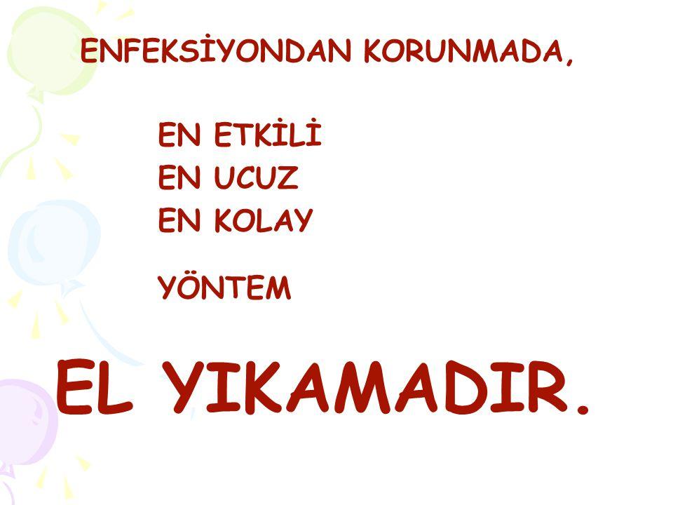 ENFEKSİYONDAN KORUNMADA,