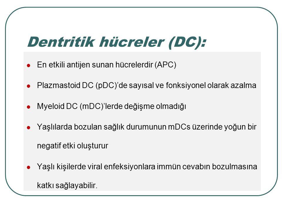 Dentritik hücreler (DC):