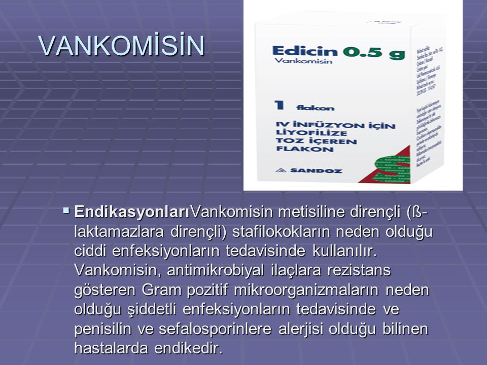 VANKOMİSİN