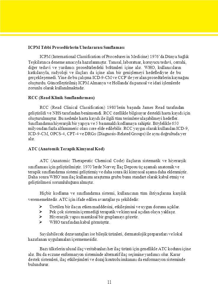 ICPM Tıbbi Prosedürlerin Uluslararası Sınıflaması