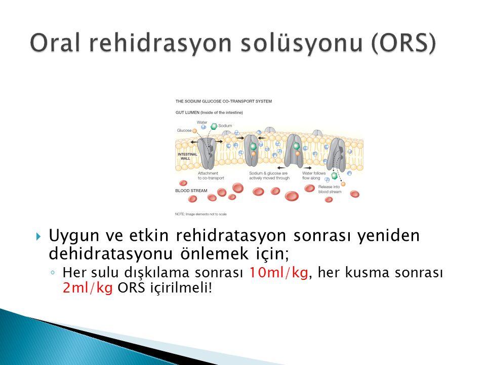 Oral rehidrasyon solüsyonu (ORS)