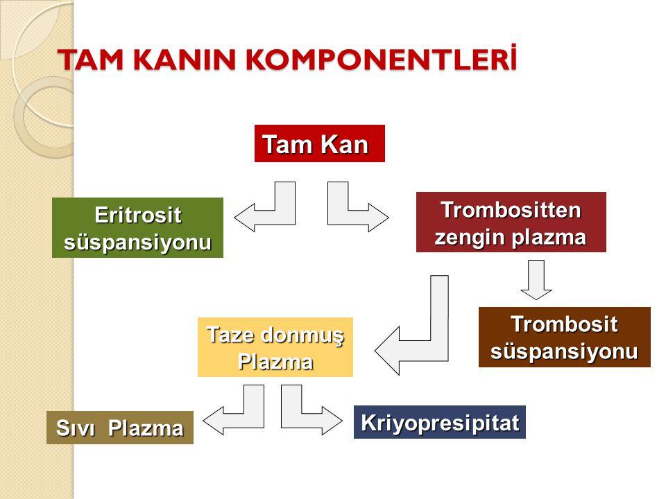 TAM KANIN KOMPONENTLERİ