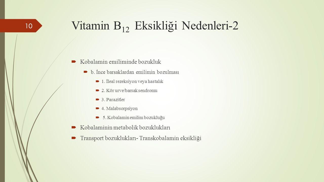 Vitamin B12 Eksikliği Nedenleri-2