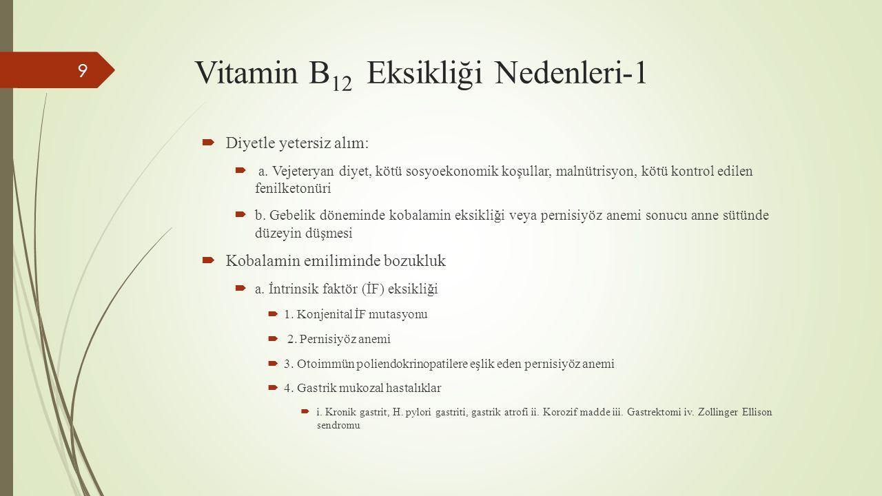 Vitamin B12 Eksikliği Nedenleri-1