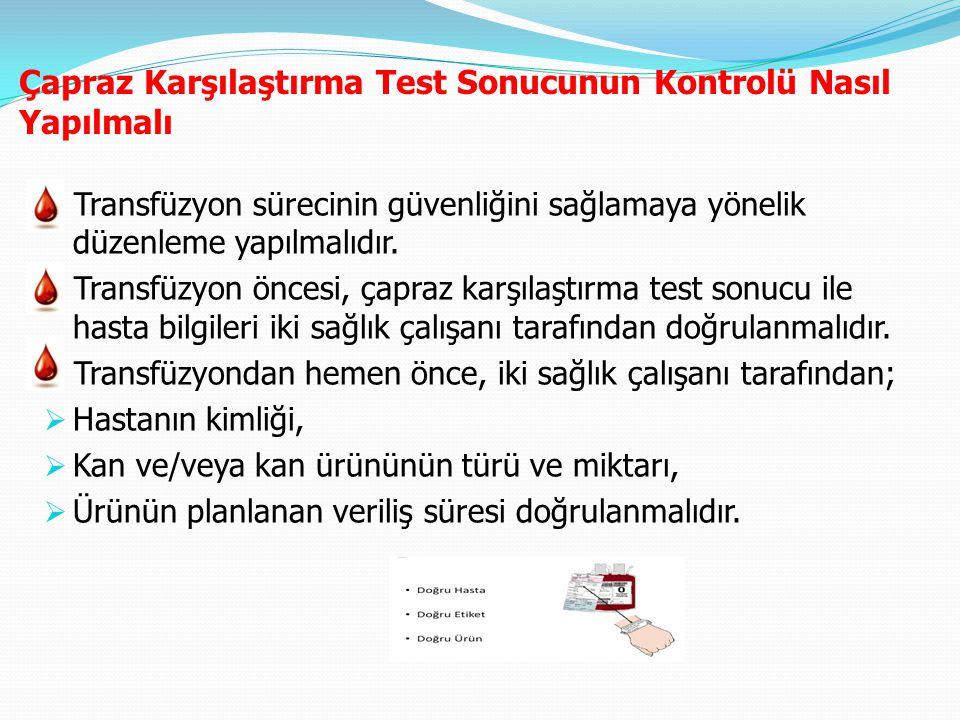 Çapraz Karşılaştırma Test Sonucunun Kontrolü Nasıl Yapılmalı