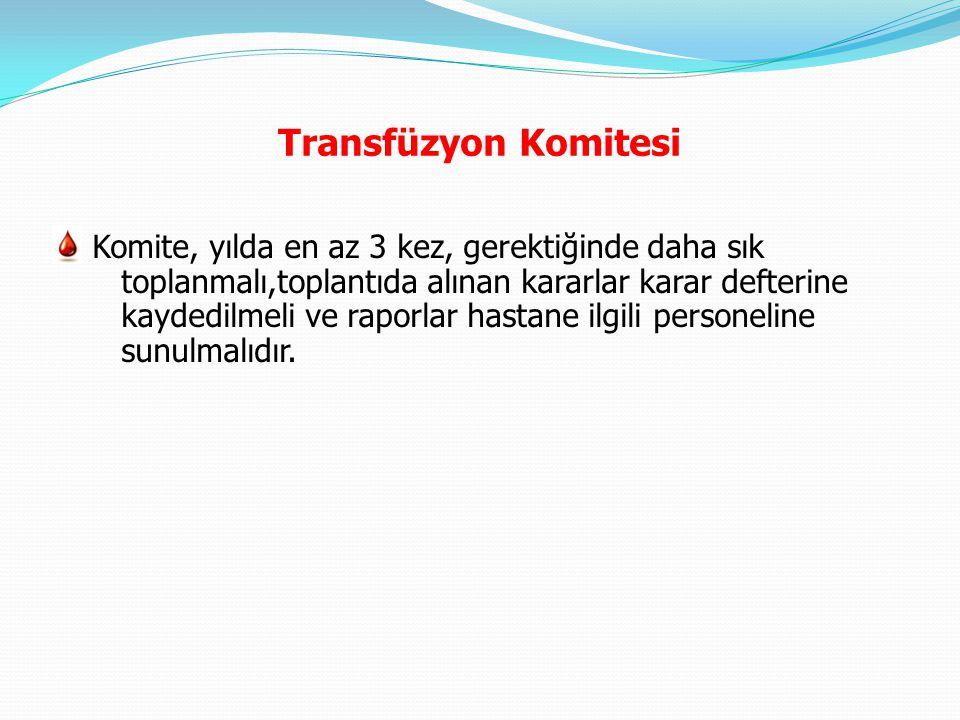 Transfüzyon Komitesi