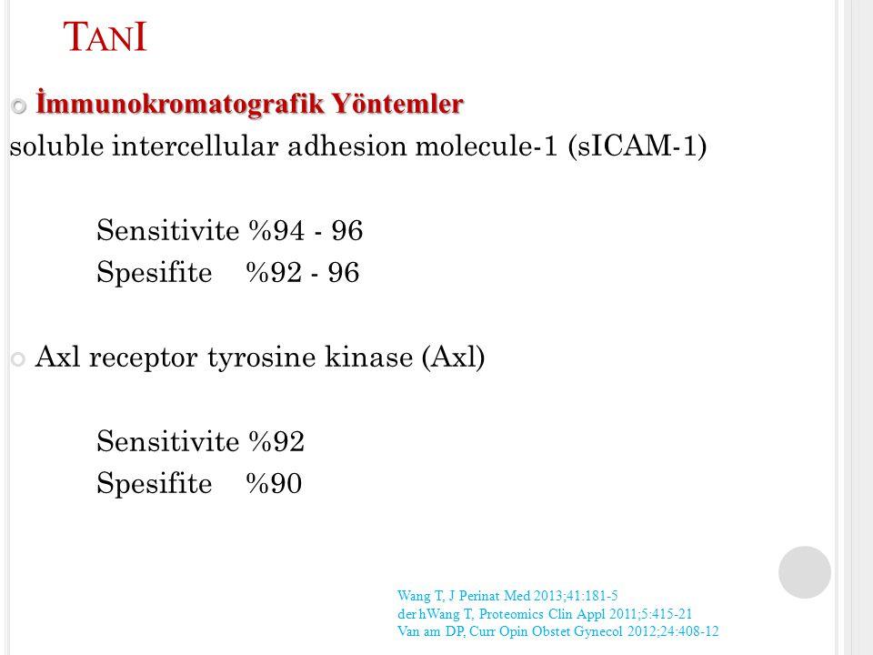 TanI İmmunokromatografik Yöntemler