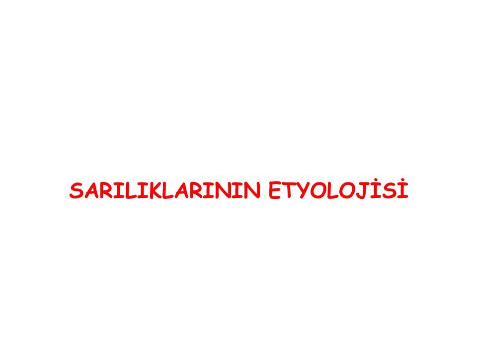 SARILIKLARININ ETYOLOJİSİ