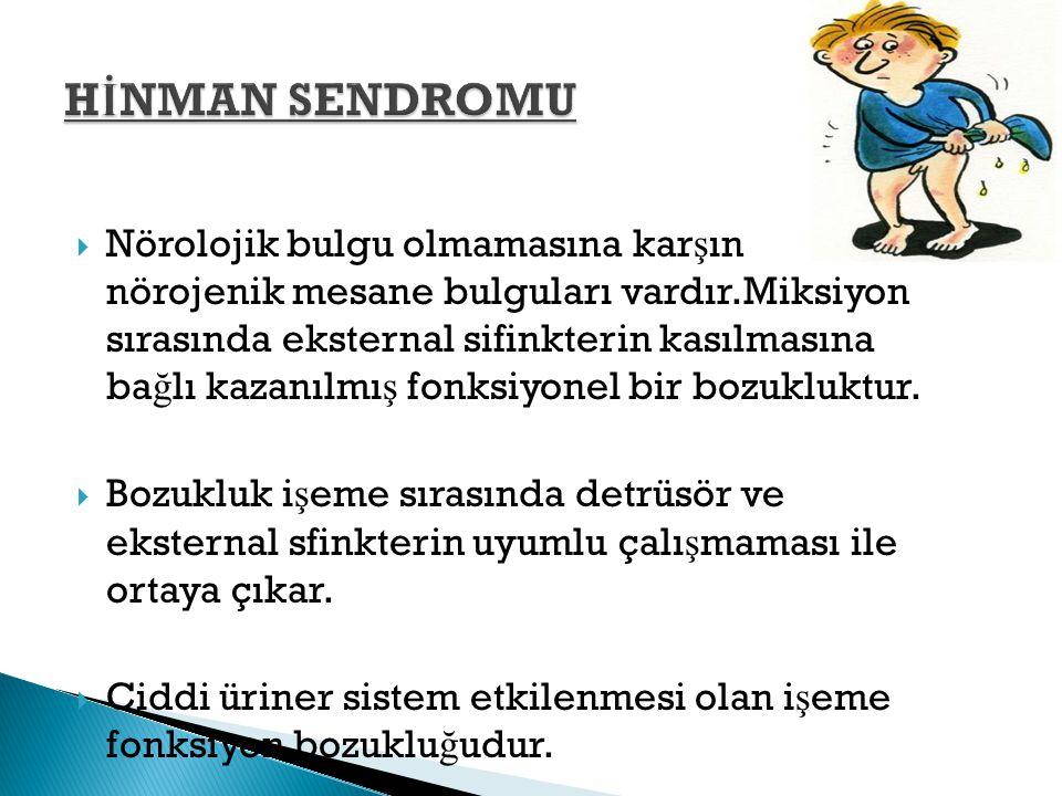 HİNMAN SENDROMU