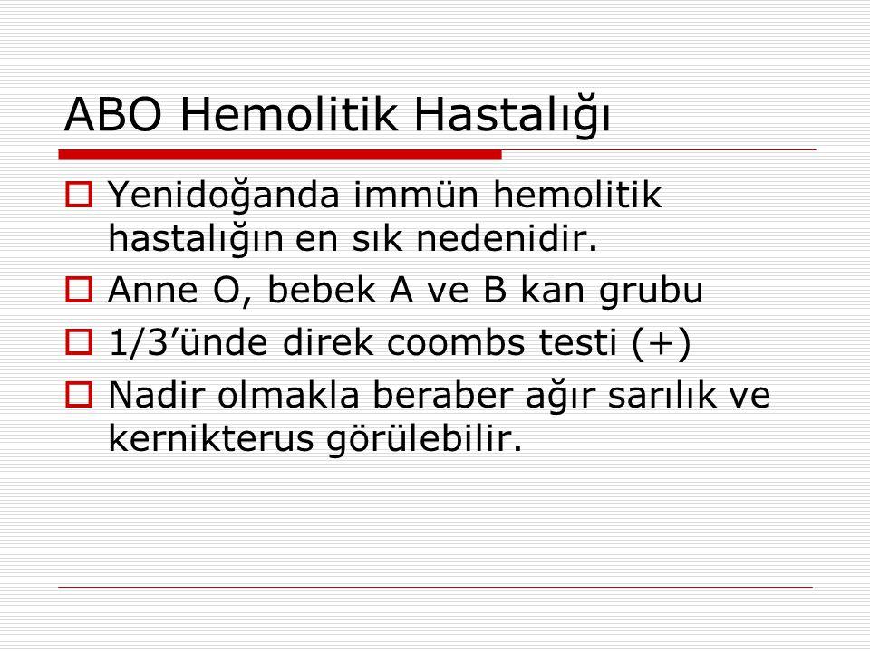 ABO Hemolitik Hastalığı