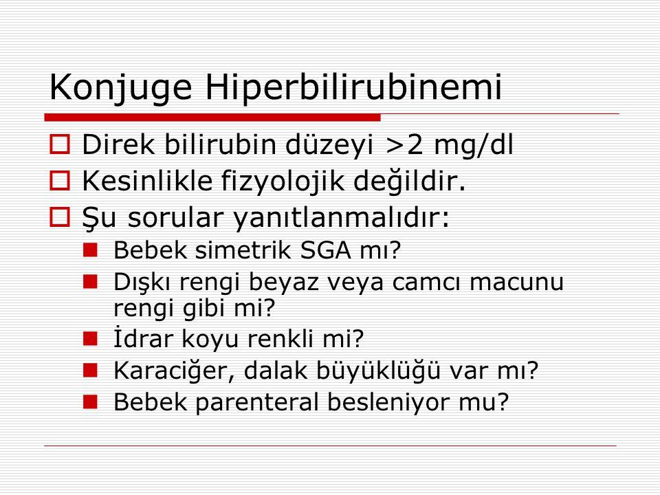 Konjuge Hiperbilirubinemi