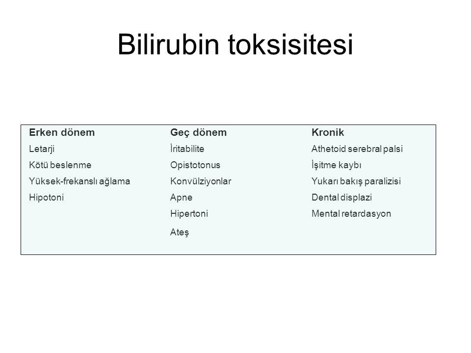 Bilirubin toksisitesi