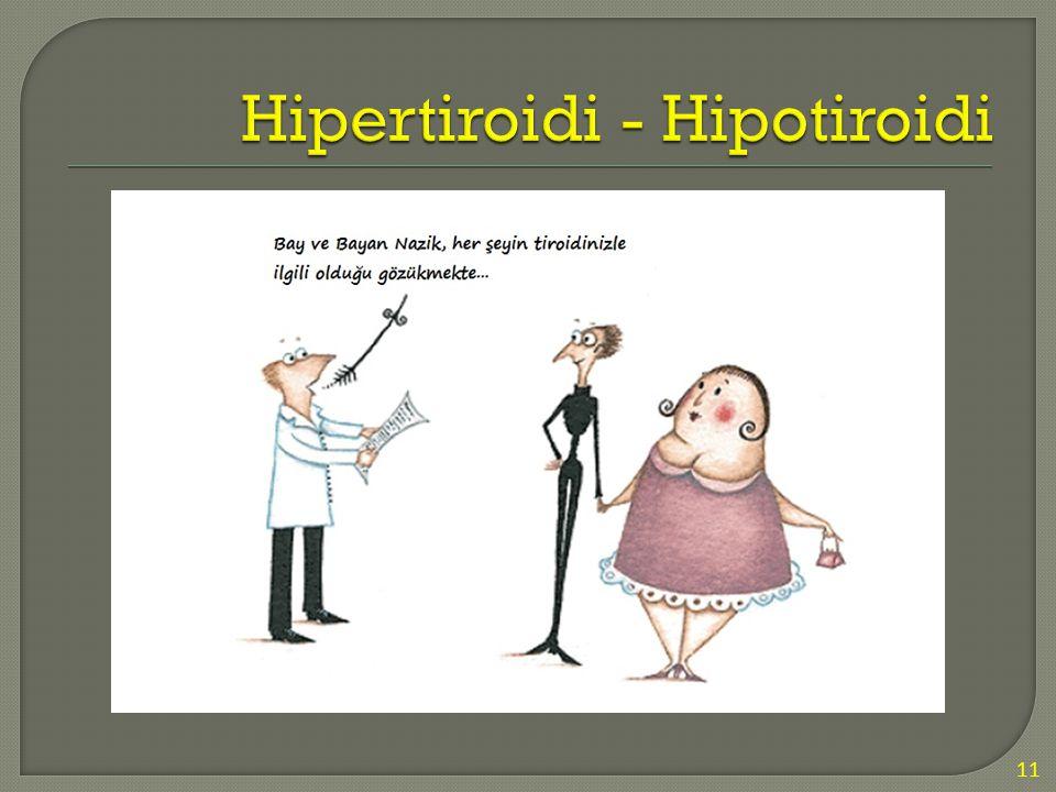 Hipertiroidi - Hipotiroidi