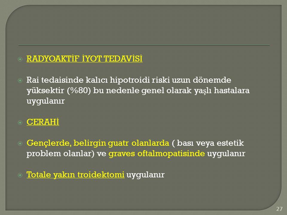 RADYOAKTİF İYOT TEDAVİSİ