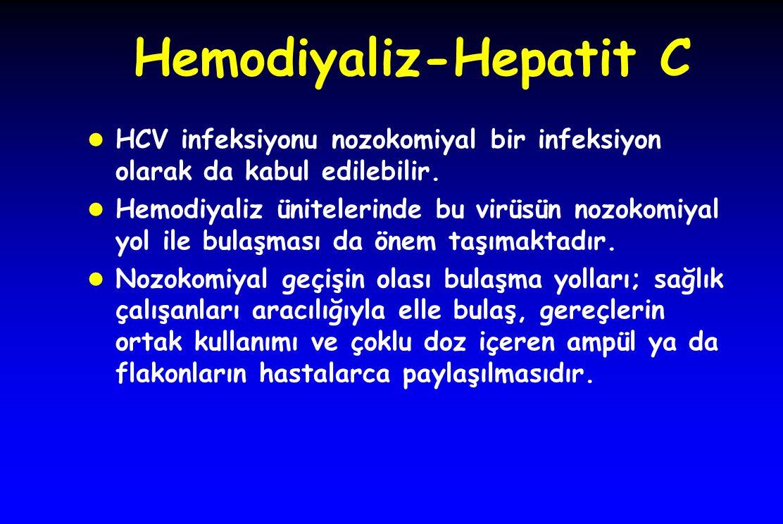 Hemodiyaliz-Hepatit C