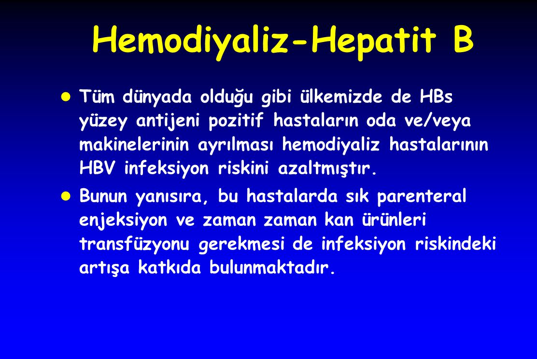 Hemodiyaliz-Hepatit B