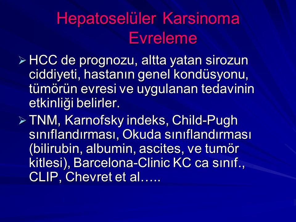 Hepatoselüler Karsinoma Evreleme