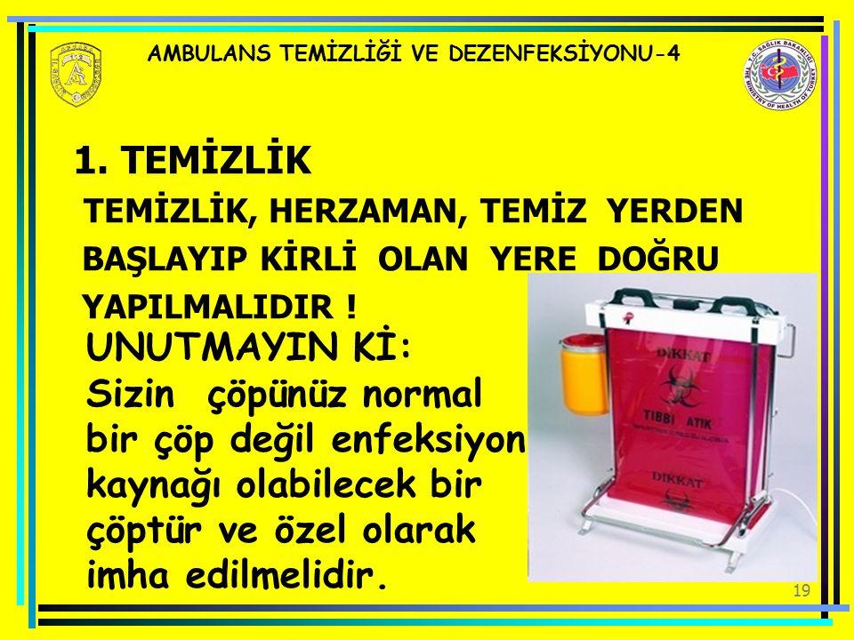 AMBULANS TEMİZLİĞİ VE DEZENFEKSİYONU-4