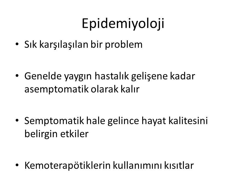 Epidemiyoloji Sık karşılaşılan bir problem